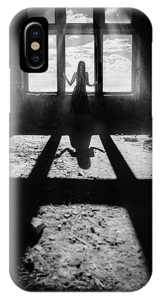 Shadow iPhone Case - Untitled by Oleg Sotnik