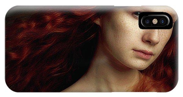 Hair iPhone Case - Untitled by Olesya Dolgih
