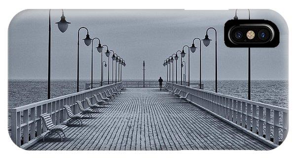 Pier iPhone Case - Untitled by Sergey Davydov