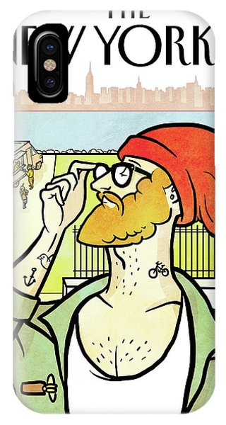 Brooklyn's Eustace IPhone Case