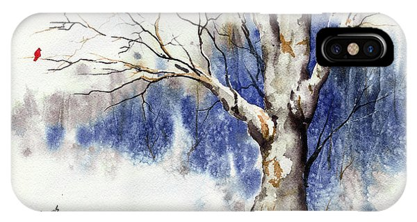 Untitled Winter Tree IPhone Case
