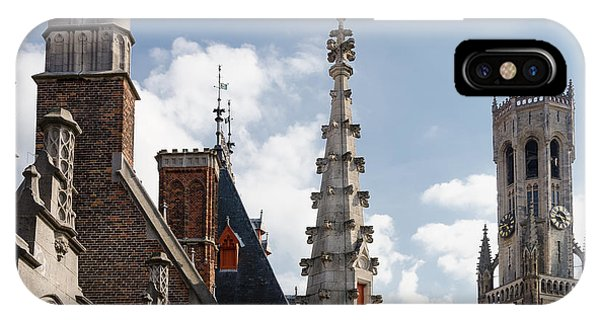 IPhone Case featuring the photograph Unusual Brugge by Paul Indigo
