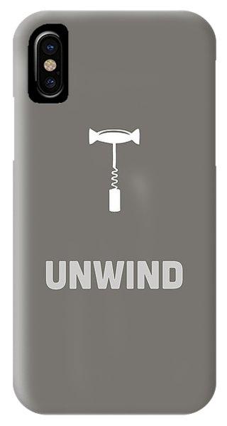 IPhone Case featuring the digital art Unwind by Nancy Ingersoll