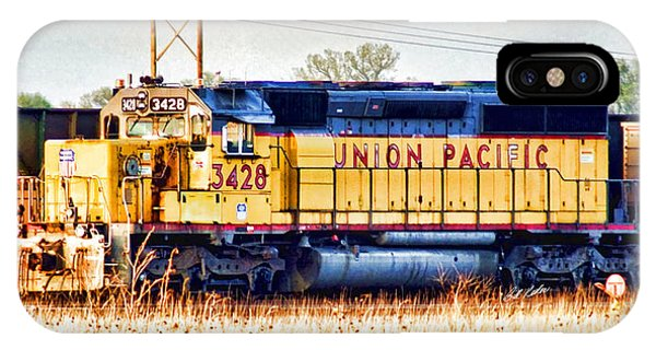 Up 3428 Rcl Locomotive In Color IPhone Case