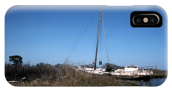 Skipjack iPhone Case - Up A Ditch by Skip Willits