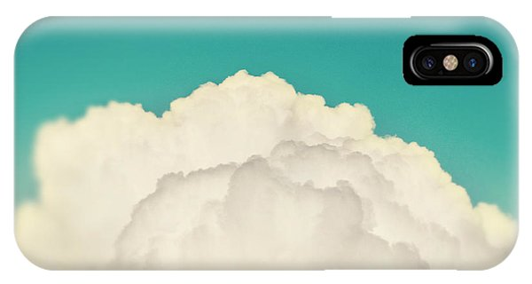 Teal iPhone Case - Up Above The Clouds by Amy Tyler
