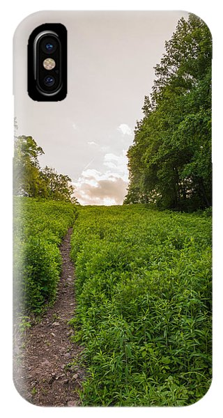 Up Hill IPhone Case