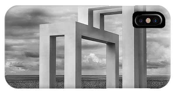 Simple Landscape iPhone Case - Up#3 by Luc Vangindertael (lagrange)
