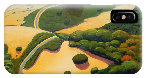 Uphill. IPhone Case