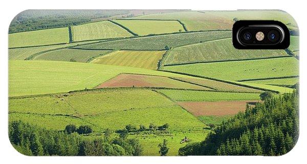Upland iPhone Case - Upland Farm by David Aubrey