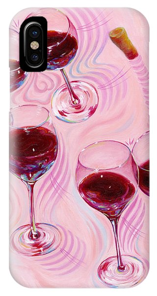 IPhone Case featuring the painting Uplifting Spirits  by Sandi Whetzel