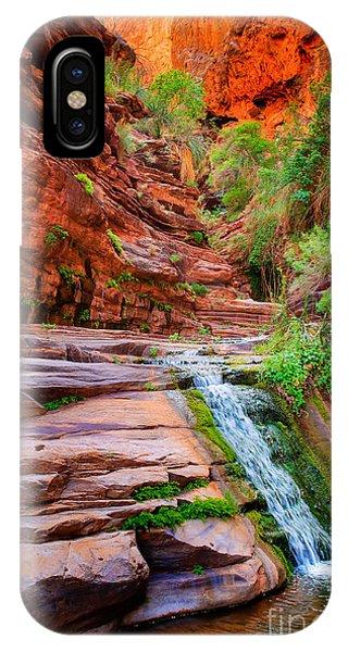 Elf iPhone X Case - Upper Elves Chasm Cascade by Inge Johnsson