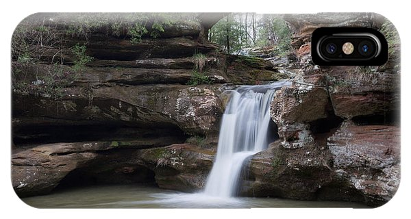 Upper Falls At Old Mans Cave II IPhone Case