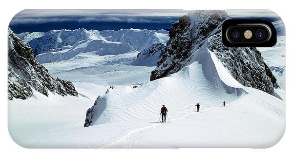 Upper Fox Glacier Westland Np New IPhone Case