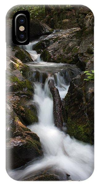 Upper Pup Creek Falls IPhone Case
