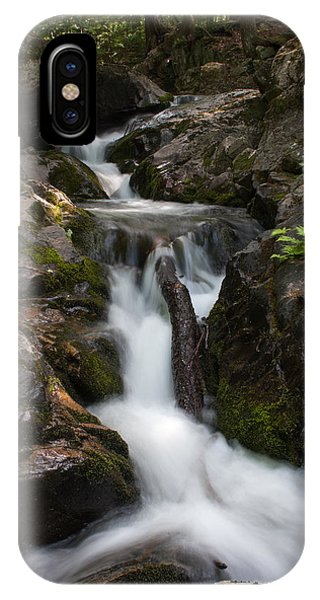 Upper Pup Creek Falls IPhone Case