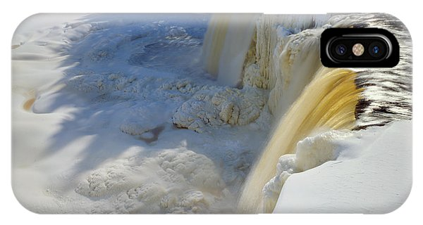 Upper Tahquamenon Falls Phone Case by Tim Hawkins