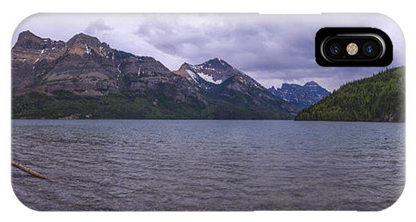 Glacier Bay iPhone Case - Upper Waterton Lake by Chad Dutson