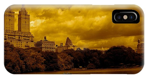 Upper West Side And Central Park IPhone Case