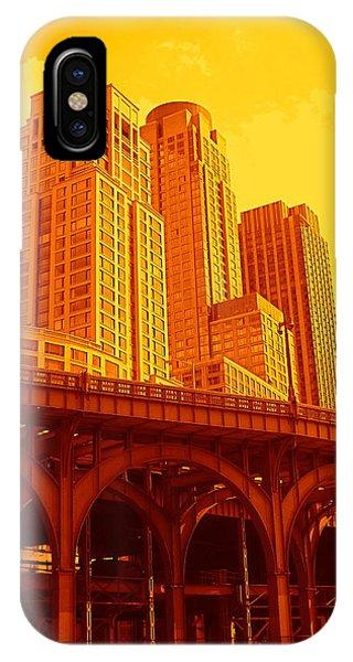 Upper West Side And Hudson River Manhattan IPhone Case