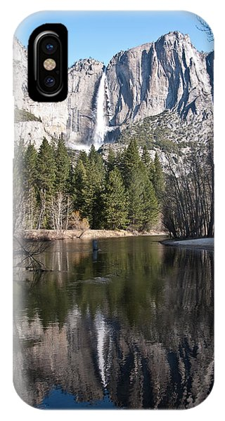 Upper Yosemite Fall IPhone Case