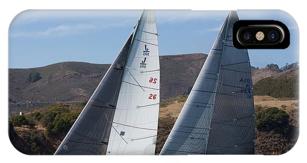 Upwind To The Gate IPhone Case