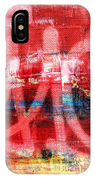 New Hampshire iPhone Case - Urban Graffiti Abstract Color by Edward Fielding