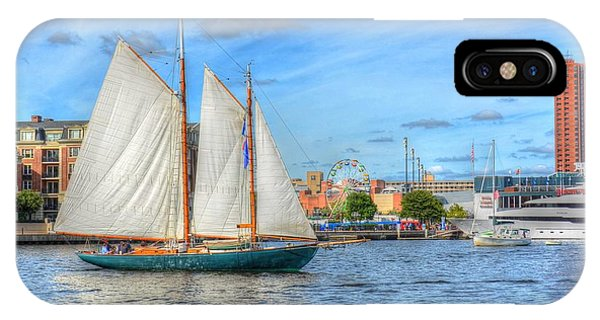 iPhone Case - Urban Sailing by Debbi Granruth