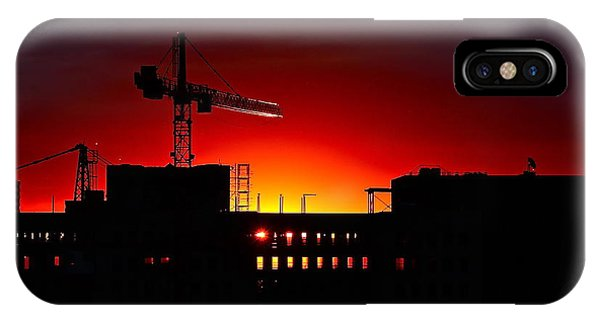 Urban Sunrise IPhone Case