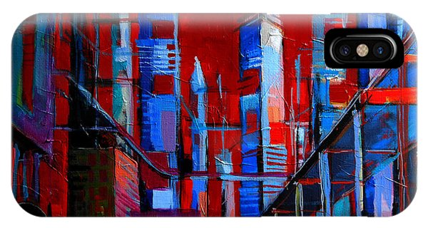 Imagination iPhone Case - Urban Vision - City Of The Future by Mona Edulesco