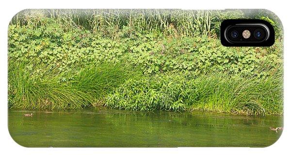Urban Wildlife Habitat - Los Angeles River IPhone Case