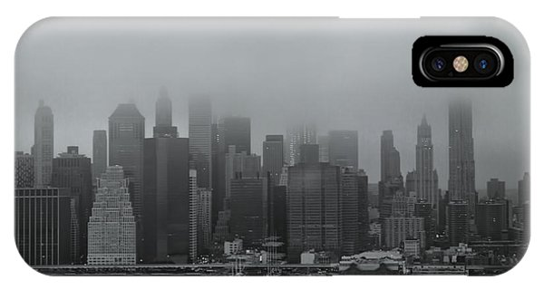 Downtown iPhone Case - Urbanoia by Evelina Kremsdorf