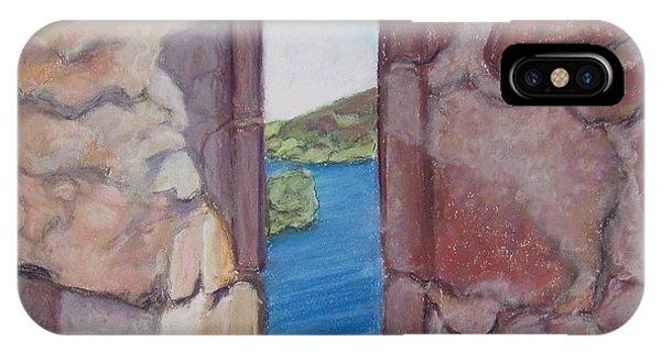 Archers' Window Urquhart Ruins Loch Ness IPhone Case