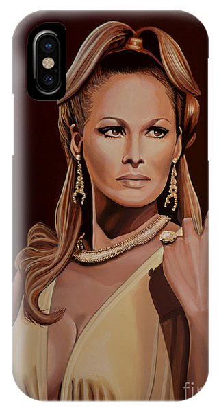 100 iPhone Case - Ursula Andress by Paul Meijering