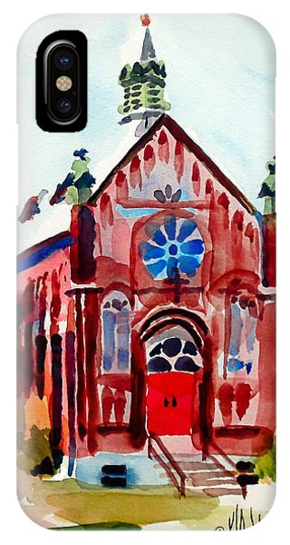Ursuline II Sanctuary IPhone Case