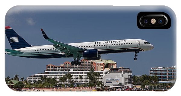 U S Airways At St Maarten IPhone Case