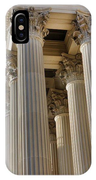 Us Archive Columns IPhone Case