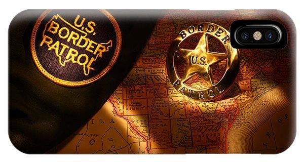 Us Border Patrol Phone Case by Daniel Alcocer