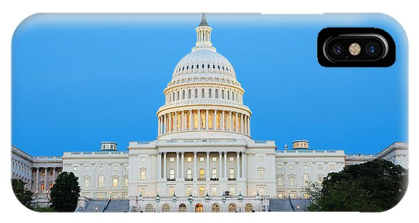 Us Capitol In Washington Dc. IPhone Case