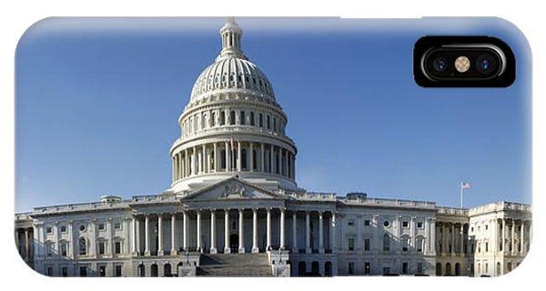 Us Capitol Panorama IPhone Case