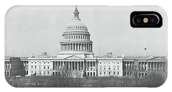 Capitol Building iPhone Case - Us Capitol Washington Dc 1916 by Fred Schutz Collection
