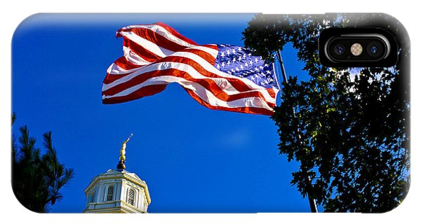 Flag And Moroni IPhone Case
