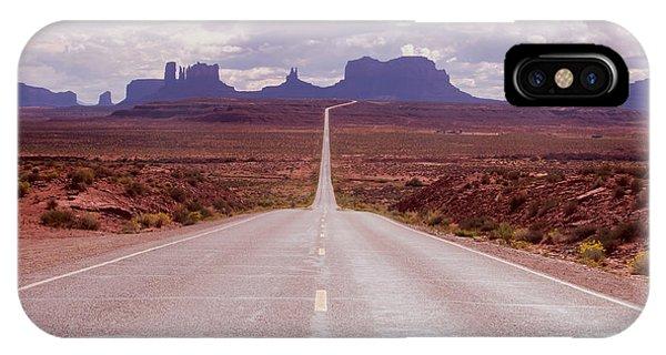 Us Highway 163 IPhone Case