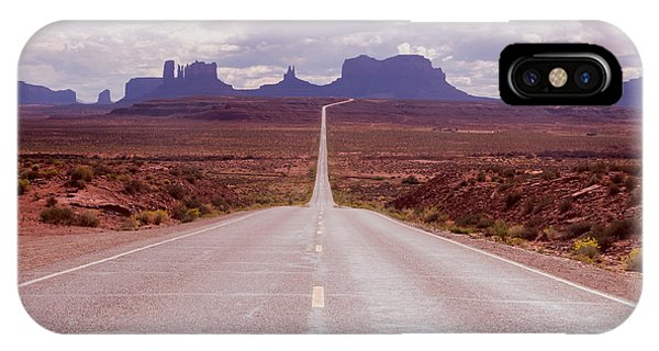 Us Highway 163 IPhone Case