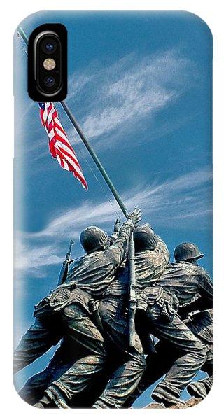 Us Marine Corps War Memorial IPhone Case