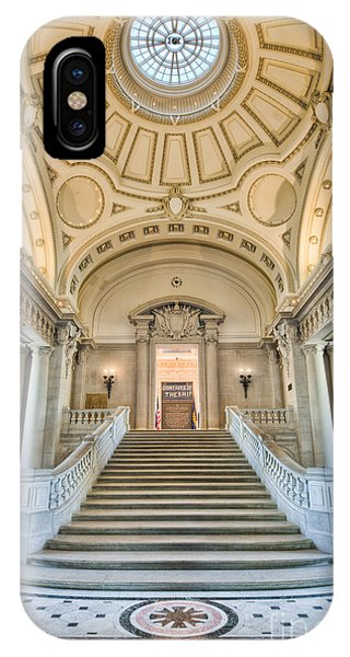 Us Naval Academy Bancroft Hall I IPhone Case