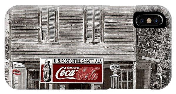U.s. Post Office General Store Coca-cola Signs Sprott  Alabama Walker Evans Photo C.1935-2014. IPhone Case
