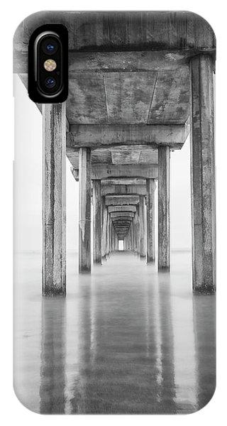 Scripps Pier iPhone Case - Usa, California, La Jolla, Scripps by John Ford
