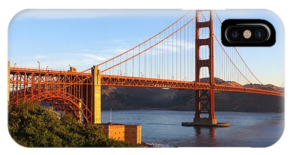 Ironwork iPhone Case - Usa, California, San Francisco, Golden by Panoramic Images