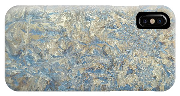 Frost Glass iPhone Case - Usa, Colorado Close-up Of Frost And Ice by Jaynes Gallery